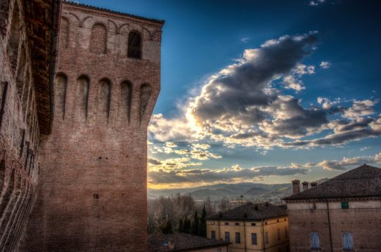 The view from Vignola Castle