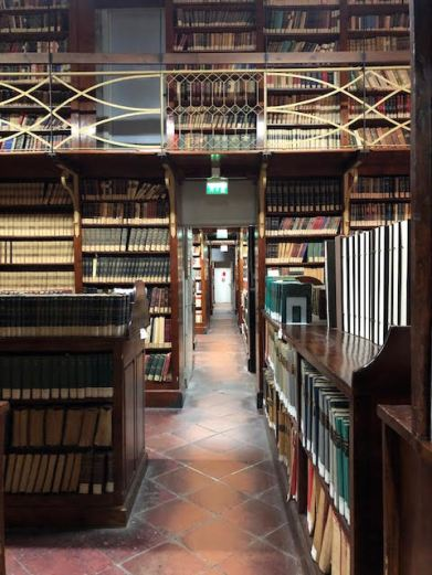 More old Books at the Estensi Library in Modena