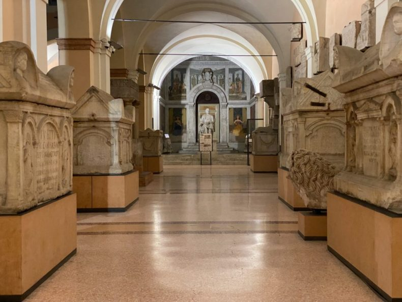 Palazzo dei Musei, the Entance