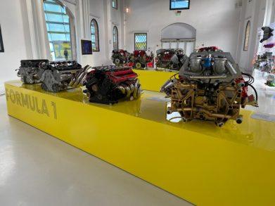 Historical Ferrari Engines