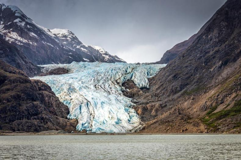 The Davidson Glacier - a favorite and among the top cruise and land excursions