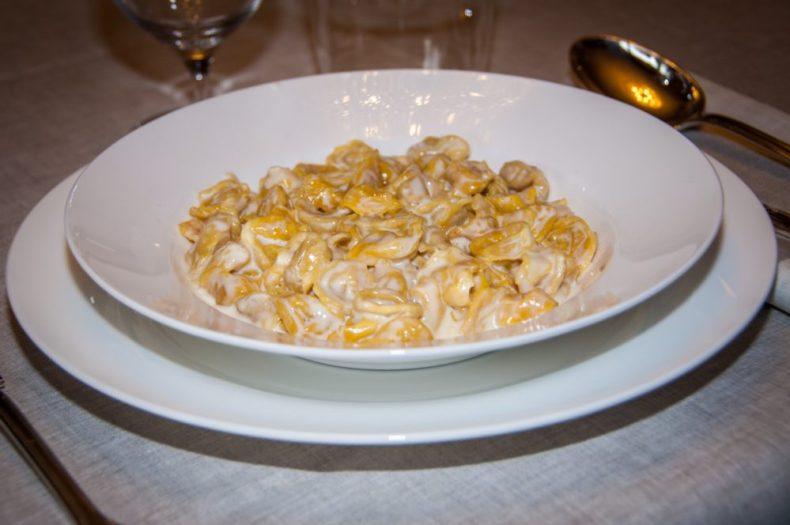 Tortellini with Panna Sauce