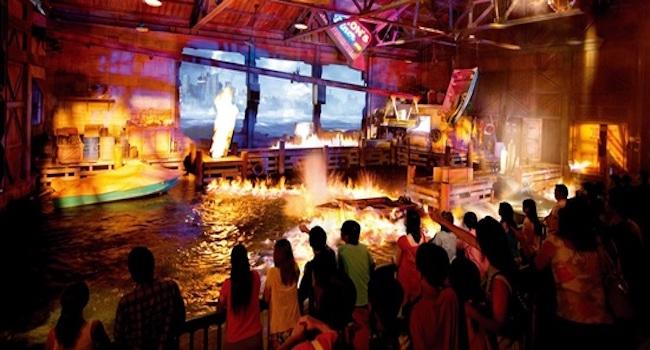 theme park shows