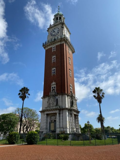Torre Monumental - on our Cruise to South America