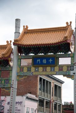 Entrance to Chinatown is something to see in Vancouver