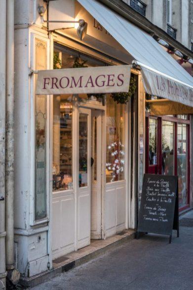 Cheese Store in Paris