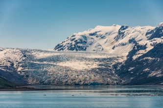 Cruising Lamplugh Glacier - whats not to love?