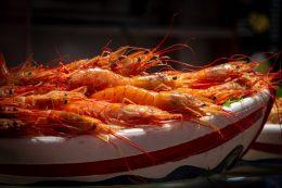 Fresh seafood a