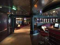 The on-board casino on a cruise shpi