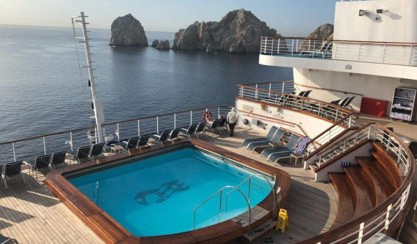 Aft Pool on a Cruise Ship
