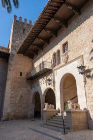 The Royal Palace Courtyard