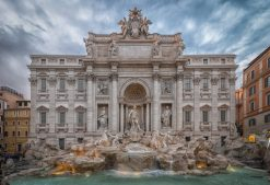 Trevi Fountain Rome!