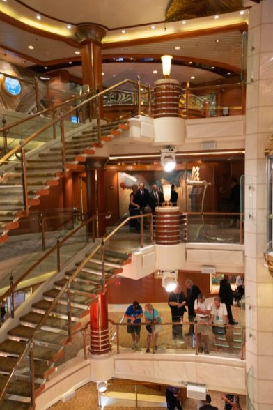 Visit the Piazza on the Cruise Ship