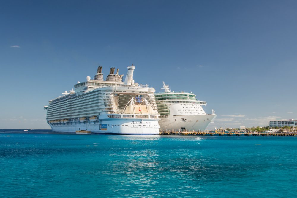 Cruise Ships in Cozumel, Caribean