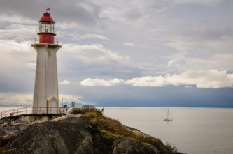 A photo of the Lighthouse at Lighthouse Park