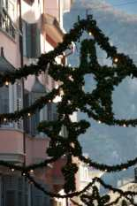 Visit the Festive decorations in Italy at Christmas time.