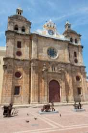 San Pedro Church in Cartagena