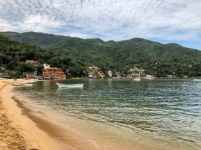 The beach in Yelapa