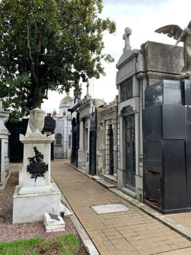 Recoleta Cemetery, Buenos Aires - on our Cruise to South America
