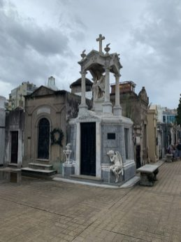 Recoleta Cemetery - on our Cruise to South America
