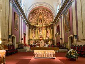 A church in Montevideo, Uruguay
