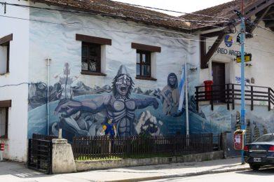 Street art in Ushuaia