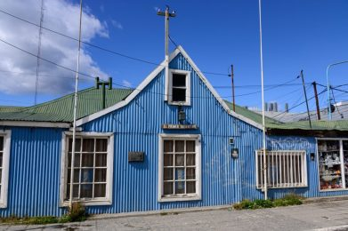 An old home in Ushuaia