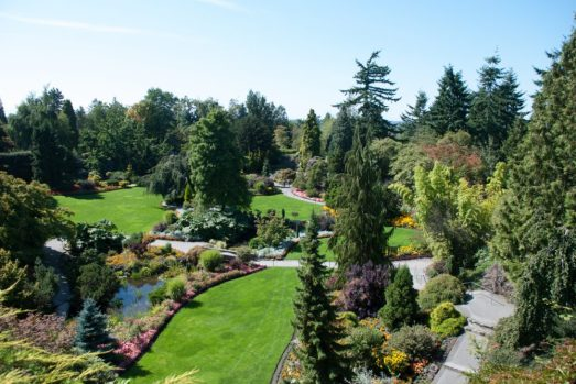 Queen Elizabeth Park - A beautiful place to see and walk around in Vancouver