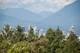 A beautiful view on the Vancouver Skyline