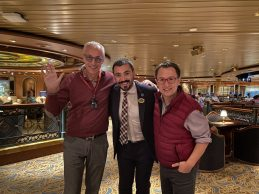 Cruise director on the Coral Princess