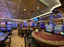 The Casino Aboard the Coral Princess