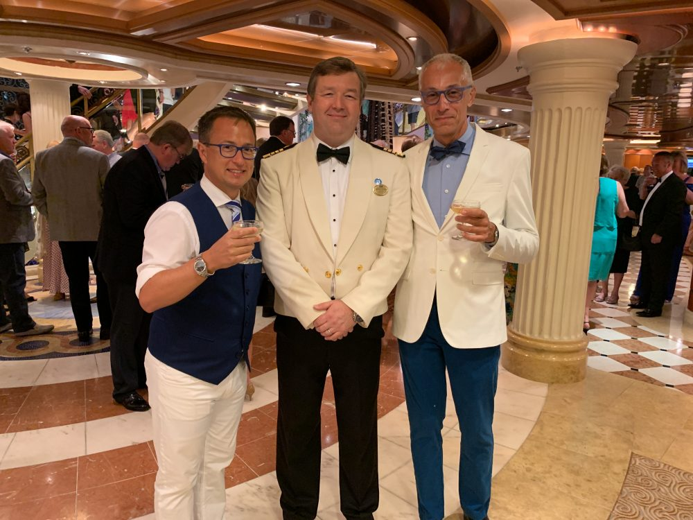 Party with Captain Steven Lewis of the Emerald Princess - Princess Cruises