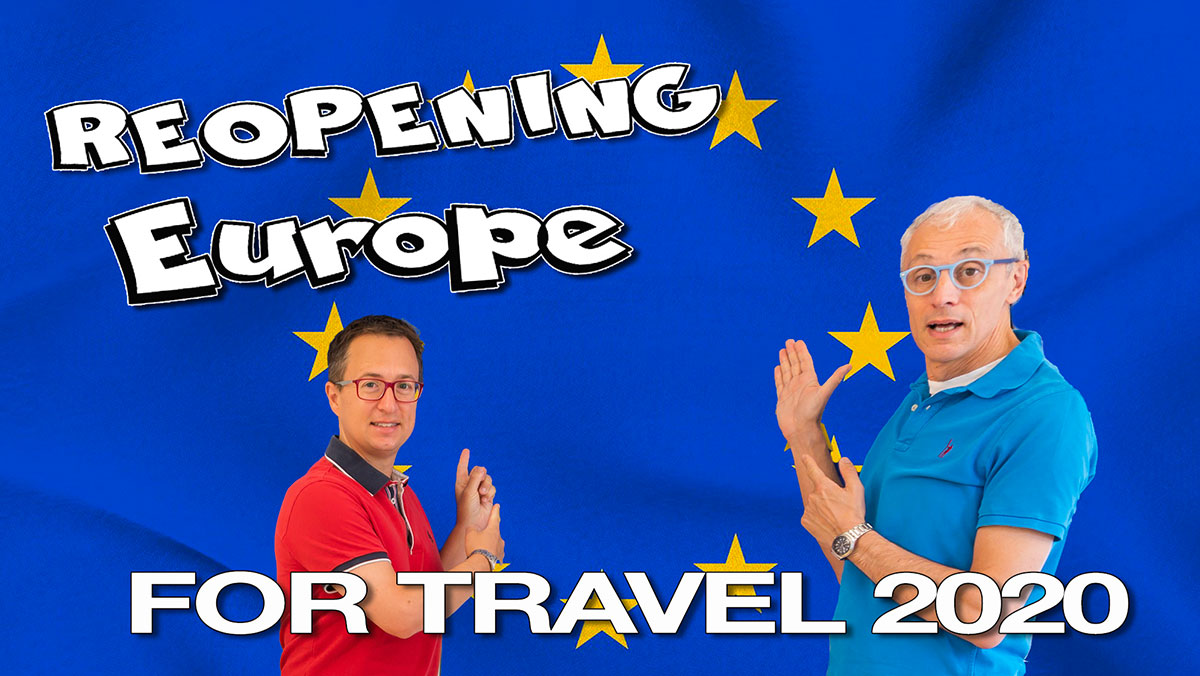 Europe's Plans for Reopening Travel