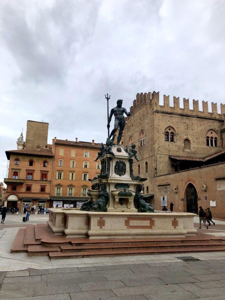 The Fountain Of Neptune Bologna
