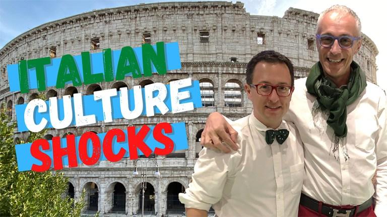 Italian culture shock!