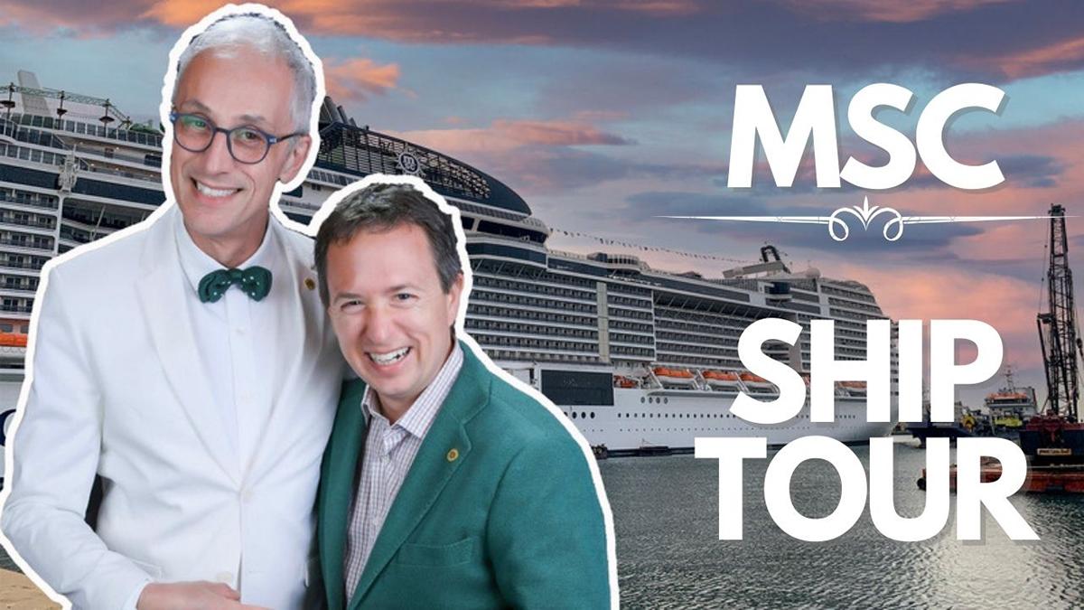 MSC Grandiosa Ship Tour