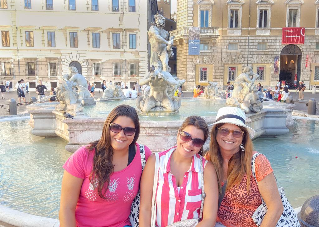 Alline @ Piazza Navona_Rome_Italy