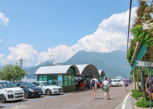 Stazione Ferry Varenna, Lake Como, Italy