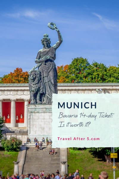 Pinterest Pin_Bavaria 14-Day Ticket: Is it worth it?, by Travel After 5