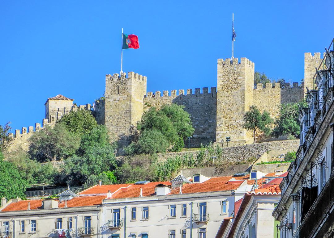 Sao Jorge Castle, Lisbon, Portugal