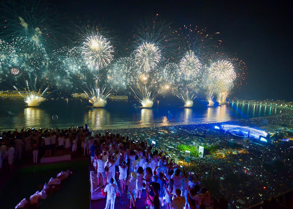 Fireworks Copacabana New Year's Eve