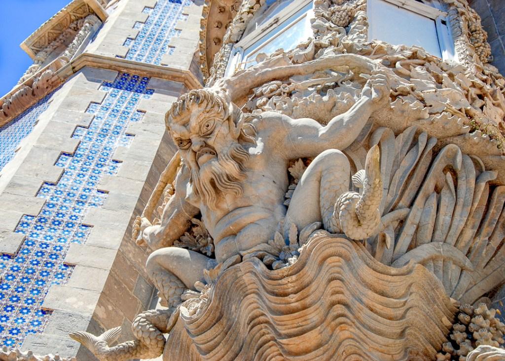 Sculpture @ Pena Palace, Sintra, Portugal