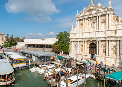 Venezia Santa Lucia and Santa Maria di Nazareth Church