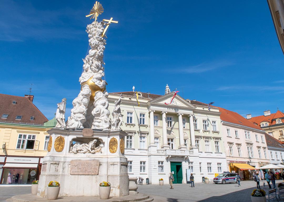 Hauptplatz, Baden bei Wien, Austria, by Travel After 5