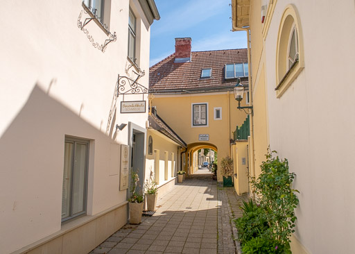 Schlossergässchen, Baden bei Wien, Austria, by Travel After 5