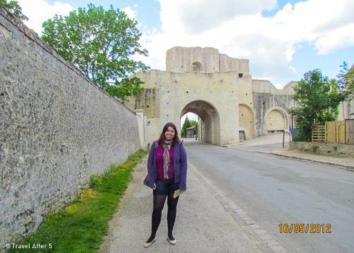 Porte de Jouy @ Provins, Île-de-France, France, by TravelAfter5