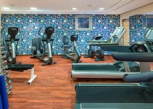 Gym, Le Méridien, Munich, Germany