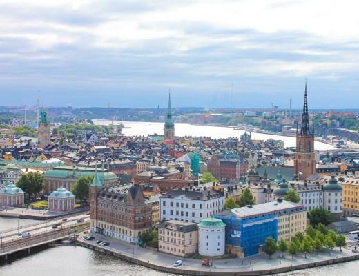 Stockholm Aerial View, Sweden