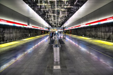 Subway Station @ Helsinki, Finland