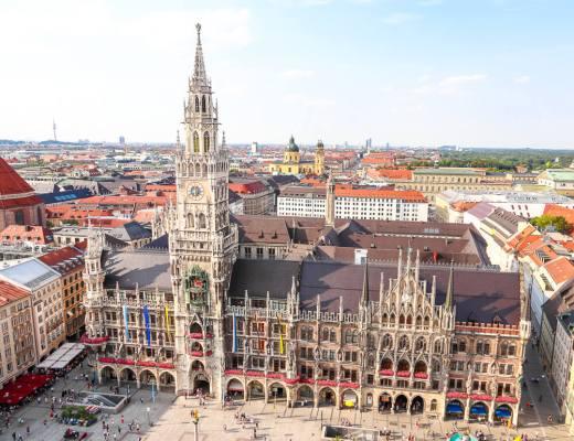 Rathaus @ Munich, Germany